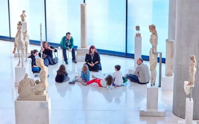 Εορταστικό πρόγραμμα Δεκεμβρίου Μουσείου Ακρόπολης