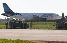 Αεροπειρατεία στο αεροδρόμιο της Μάλτας