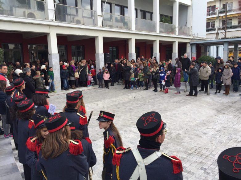Παιδιά και γονείς στην Πρωτοχρονιάτικη εκδήλωση της Αντιπεριφέρειας Μαγνησίας-Β. Σποράδων