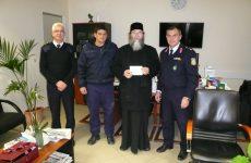 Πρωτοχρονιάτικο δώρο στον «Εσταυρωμένο» από την Ελληνική Αστυνομία