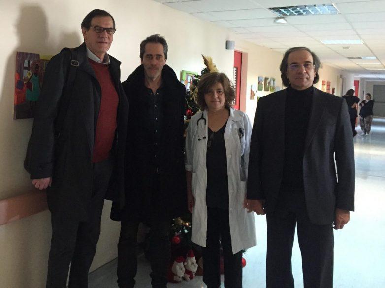 Επίσκεψη στην παιδιατρική κλινική του ΑΓΝΒ έκανε ο Δικηγορικός Σύλλογος