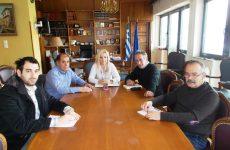 Συνάντηση του Μεταποιητικού Τμήματος με την αντιπεριφερειάρχη Μαγνησίας