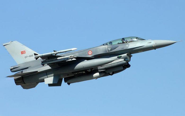 Πτώση τουρκικού μαχητικού αεροσκάφους F16