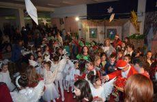 Μεγάλη χριστουγεννιάτικη γιορτή των ΚΔΑΠ δήμου Ρήγα Φεραίου
