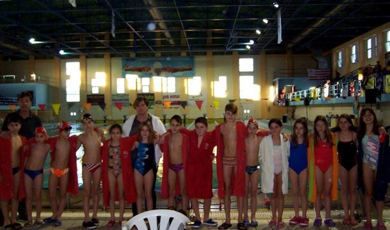 Τα τμήματα κολύμβησης του Ολυμπιακού Βόλου σε Πτολεμαΐδα και Λάρισα
