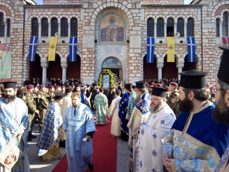 Με λαμπρότητα και τιμές η εορτή του Πολιούχου της πόλης Αγίου Νικολάου