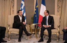 Συνάντηση του πρωθυπουργού με τον Φρανσουά Ολάντ