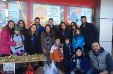 Οι πρόσκοποι της Μαγνησίας συγκέντρωσαν 2 τόνους τρόφιμα
