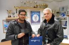 Παρέλαβε το δώρο του ο νικητής της κλήρωσης  της Νίκης για το tablet