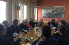 Στον ΟΛΒ η  υφυπουργός Οικονομικών Κ. Παπανάτσιου και βουλευτές του ΣΥΡΙΖΑ Μαγνησίας