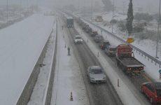 Προσωρινή απαγόρευση κυκλοφορίας φορτηγών άνω του 1,5 τόνου στην ΠΑΘΕ