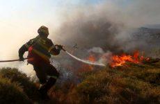 Φωτιά στην περιοχή Κατηχωρίου