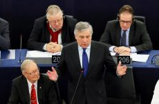 Νέος πρόεδρος του Ευρωκοινοβουλίου ο Αντόνιο Ταγιάνι