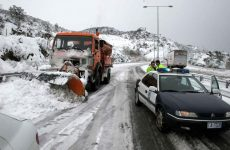 Εγκλωβισμένα οχήματα στην Εγνατία Οδό