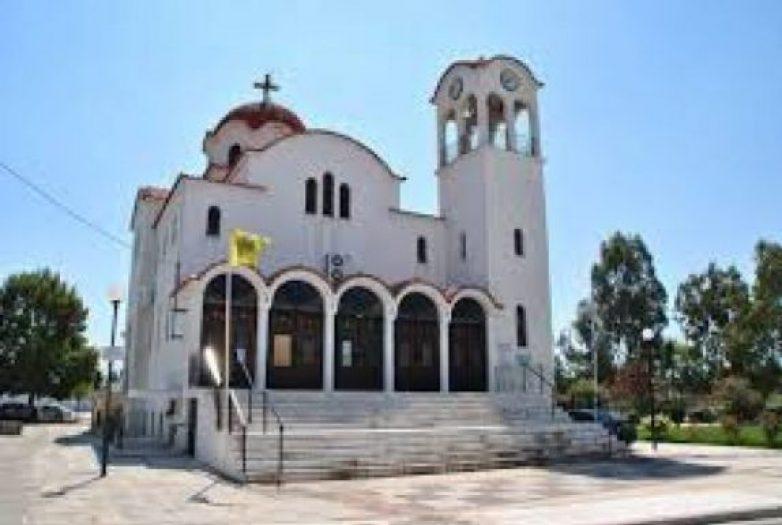 Προστέγασμα στον ναό Αγίου Τρύφωνα στο Βόλο κατασκευάζει η Περιφέρεια Θεσσαλίας
