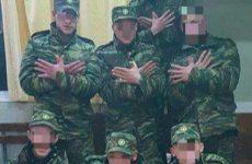 Σε στρατιωτικό εισαγγελέα οι νεοσύλλεκτοι που σχημάτισαν τον αλβανικό αετό