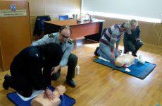 Εκπαίδευση αστυνομικών της Διεύθυνσης Αστυνομίας Λάρισας στην καρδιοπνευμονική αναζωογόνηση