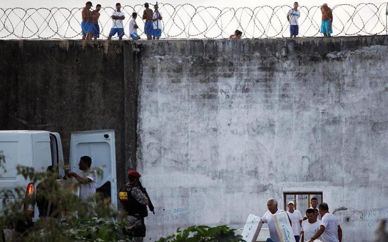 Βραζιλία: 62 κρατούμενοι απέδρασαν κατά τη διάρκεια εξέγερσης σε φυλακή