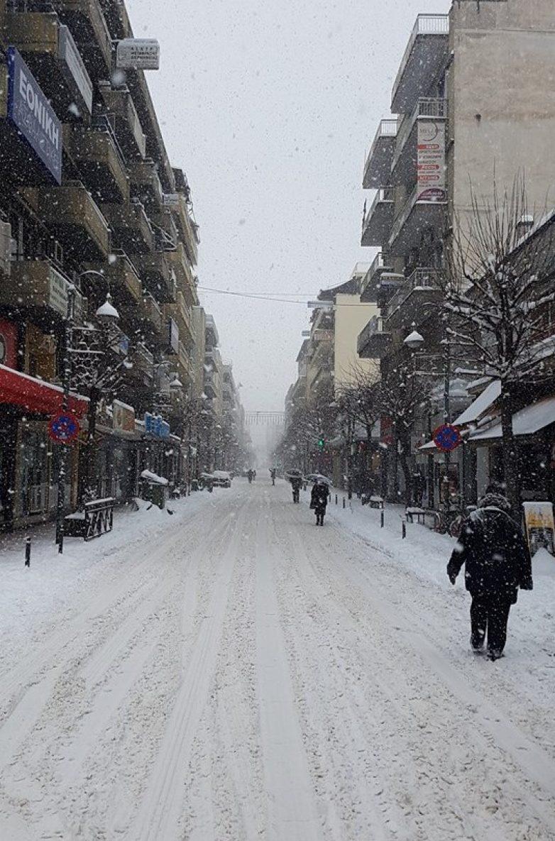 Παγετός αναμένεται στη Λάρισα