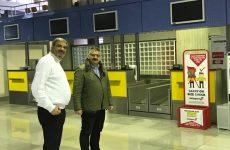 """Μιχ. Μιτζικός: Αναγκαία η εσωτερική σύνδεση του Αεροδρομίου Κ. Ελλάδος  με το """"Ελευθέριος Βενιζέλος"""""""