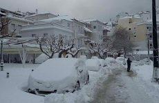 Συνεχίζεται η διαδικασία αποκατάστασης ζημιών στις Β. Σποράδες από  τον χειμερινό χιονιά