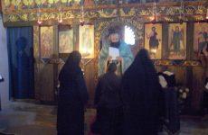 Ρασοφορία νέας μοναχής στην Ιερά Μονή Τιμίου Προδρόμου Ανατολής
