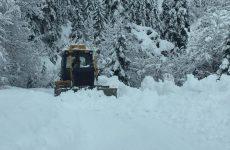 Κλειστά λόγω χιονιά τα σχολεία στο κεντρικό Πήλιο