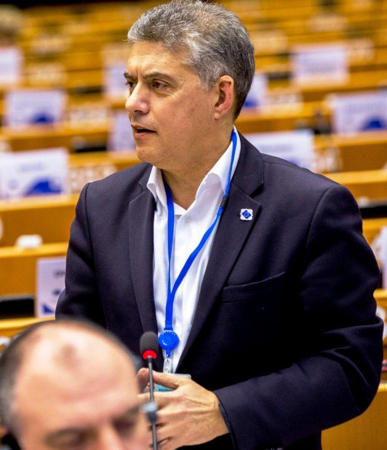 Διάλογο με τον επίτροπο Γεωργίας ΕΕ Φ. Χόγκαν είχε ο πρόεδρος της Ένωσης Περιφερειών Κ. Αγοραστός