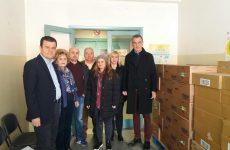 Γάλα και κρέμες σε 600 άπορες οικογένειες από την Περιφέρεια Θεσσαλίας