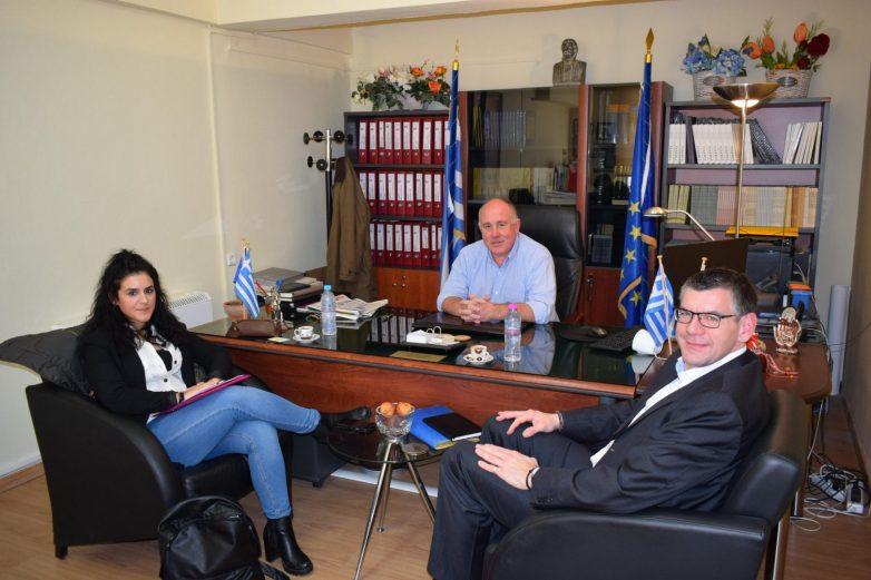 Συνάντηση δημάρχου Ρήγα Φεραίου με τον δήμαρχο Steinach της Βάδη-Βυρτεμβέργης