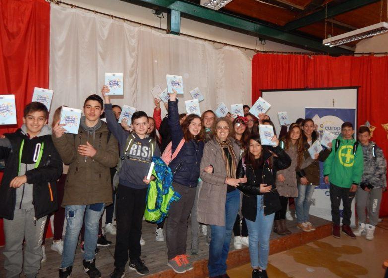 Ημερίδα αφιερωμένη στα Ευρωπαϊκά Προγράμματα στο 9ο Γυμνάσιο Βόλου από το Europe Direct