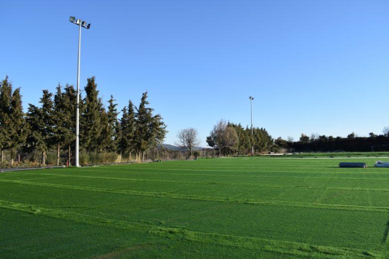 Ολοκληρώνεται το γήπεδο ποδοσφαίρου Αργαλαστής
