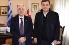 Συνάντηση Αντιπεριφερειάρχη Θεσσαλίας με τον Πρόεδρο του Ελληνικού Ερυθρού Σταυρού
