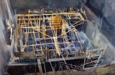 «Υπό κατασκευήν»: Τέταρτη ατομική έκθεση του Μίλτου Γκολέμα