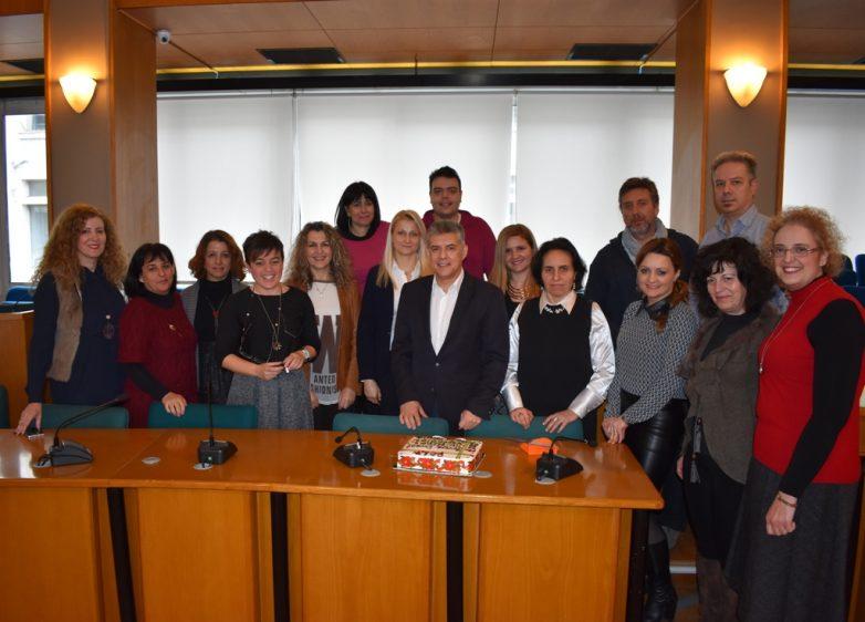 Συνάντηση των εκπαιδευτικών του προγράμματος Teachers4Europe