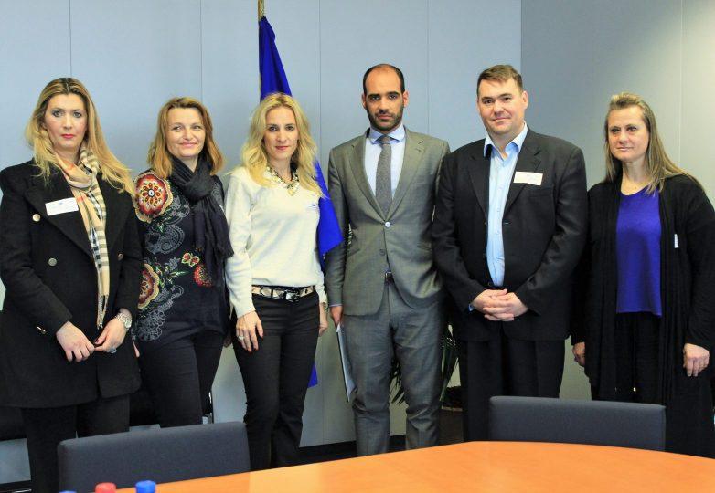 Στον επίτροπο Παιδείας της Ε.Ε.  εκπαιδευτικά θέματα της Μαγνησίας
