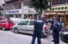 Απέτρεψε η Αστυνομία και εταιρεία security  την είσοδο μελών της κίνησης «Συμμαχία για το νερό» στο κτίριο της ΔΕΥΑΜΒ