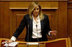Γεννηματά κατά Τσίπρα: Αλυσοδένετε την χώρα στο δίλλημα Grexit ή μόνιμη λιτότητα