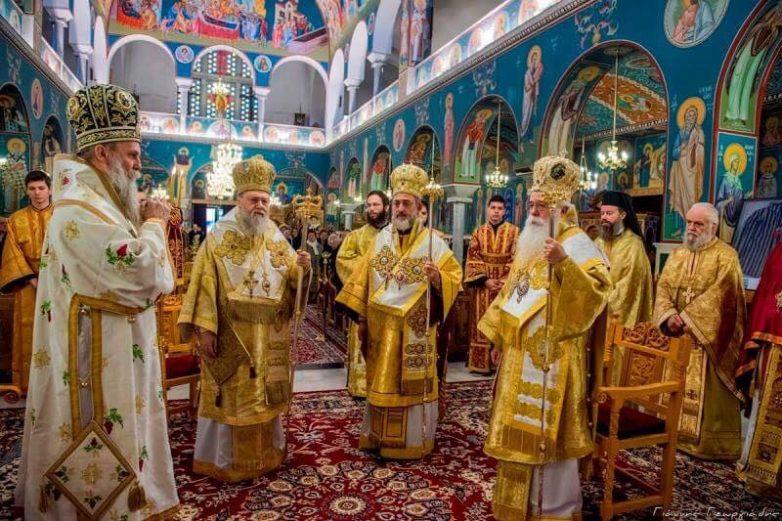 Την μνήμη του Μακαριστού Μητροπολίτου Δημητριάδος & Αλμυρού  Δαμασκηνού   τίμησε  η Τοπική Εκκλησία