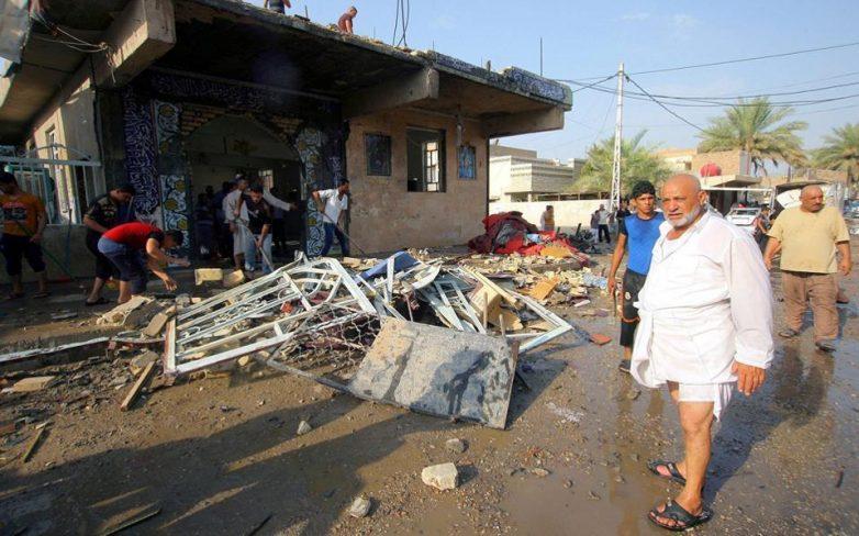 Οκτώ τραυματίες από έκρηξη βόμβας στη Σμύρνη