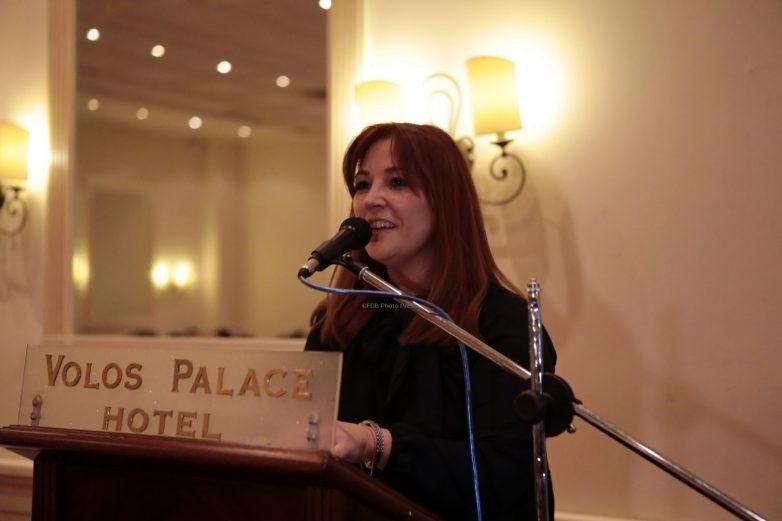Την υποψηφιότητά της για το δήμο Βόλου παρουσιάζει η Νάνσυ Καπούλα