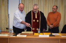 Κοπή πίττας δημοτικού συμβουλίου Δήμου Ρήγα Φεραίου