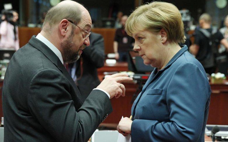 Δημοσκόπηση Spiegel: 44% Σουλτς, 38% Μέρκελ αν εκλεγόταν απ΄ευθείας καγκελάριος