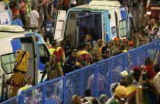 Καρναβαλικό άρμα έπεσε πάνω σε θεατές στο σαμπαδρόμιο του Ρίο- 20 τραυματίες
