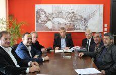 Συνάντηση περιφερειάρχη Θεσσαλίας με δήμαρχο Νοτίου Πηλίου για έργα και ζητήματα του Δήμου