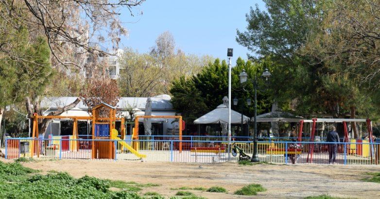 Ανοίγει  στις 25 Μαρτίου η παιδική χαρά στο πάρκο του Αγίου Κωνσταντίνου