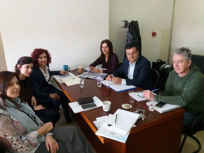 Σύσκεψη στην Ειδική Γραμματεία Κοινωνικής Ένταξης των Ρομά