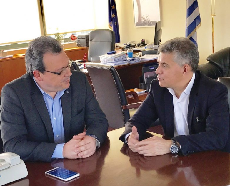 Συνάντηση Σ. Φάμελλου και Κ. Αγοραστού για την υλοποίηση  επιχειρησιακού σχεδίου