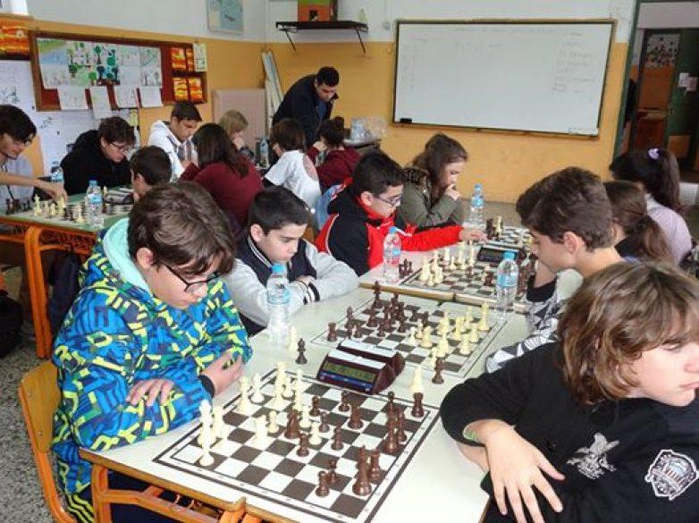Μεγάλη συμμετοχή στο μαθητικό πρωτάθλημα σκάκι Θεσσαλίας 2017