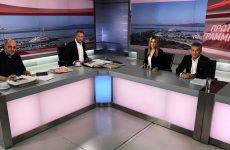 Κώστας Αγοραστός στην τηλεόραση του ΣΚΑΙ:  «Οι τιμές των διοδίων είναι άδικες»
